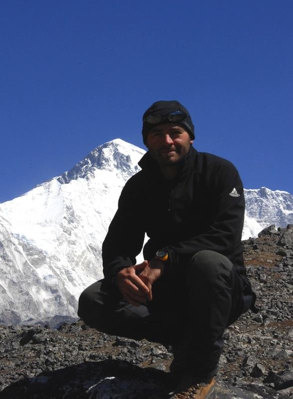 sotto la parete sud del ChoOyu - Nepal
